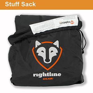 stuff sack, carry bag, storage drawstring sack for car top carrier