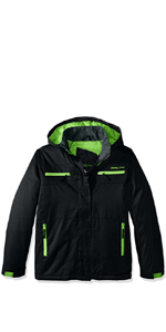 Small Arctix Boys Catch 22 Insulated Jacket Charcoal