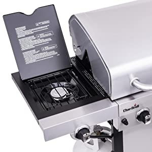 lidded,side,burner,char,broil,gas,grill,performance,infra,red,signature,charbroil,weber,stainless