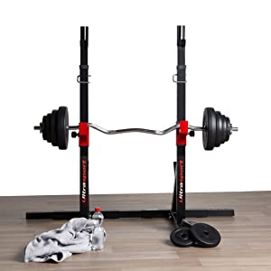 Ultrasport Soporte para pesas para un entrenamiento versátil