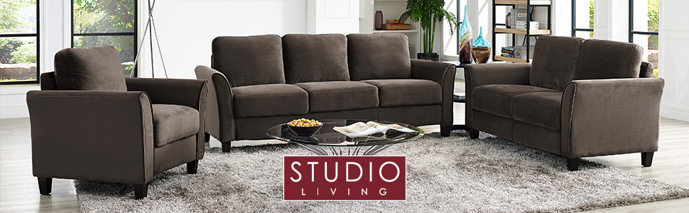 Amazon.com: Lifestyle Solutions sofá Watford, color ...