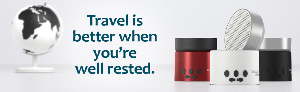 LectroFan Micro2 travel is better when you're well rested