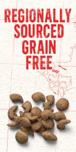 Beyond Regionally Sourced Grain Free dog food