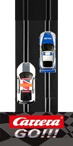 Carrera GO!!! GO Electric Powered 1:43 Scale Slot Car Racing Track Set for Boys Men Adults
