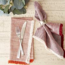 cotton,set,fabric,cloth,plaid,reusable,meal,burgundy,large,dining,restaurant,buffet,yellow