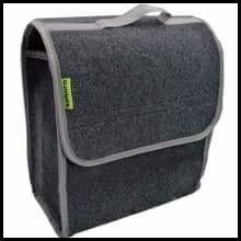 2x SAKURA Car Boot Storage Bag Velcro Organiser for Tools Breakdown Travel Tidy