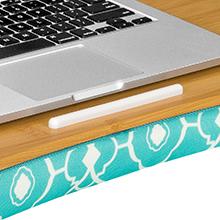 designer, lap desk, lapdesk, lapgear, media slot, media holder, phone holder, tablet, laptop