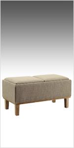 Phenomenal Amazon Com Convenience Concepts Designs4Comfort Winslow Theyellowbook Wood Chair Design Ideas Theyellowbookinfo