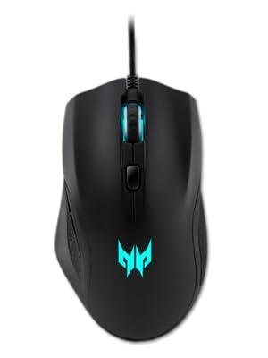 Predator Cestus 320 Gaming Maus Schwarz Blau Computer Zubehör