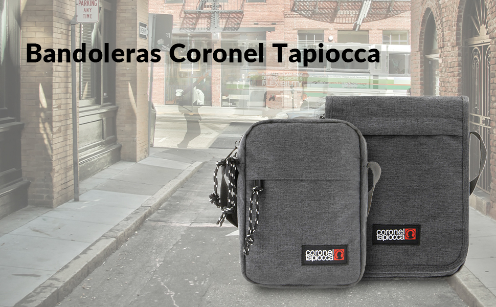 bandoleras hombre coronel tapiocca bolso cruzar crossbody bag messenger casual diario urbana amplia