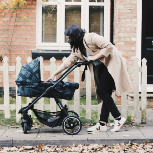carrycot style single compact stroller