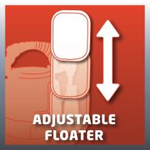 Flotteur ajustable