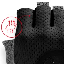 KANSOON Breathable Workout/Gloves,/Knuckle/Weight/Lifting/Fingerless Gym/Exercise Gloves/with/Curved/Open/Back,/for/Powerlifting,/Crossfit,/Women/and/Men