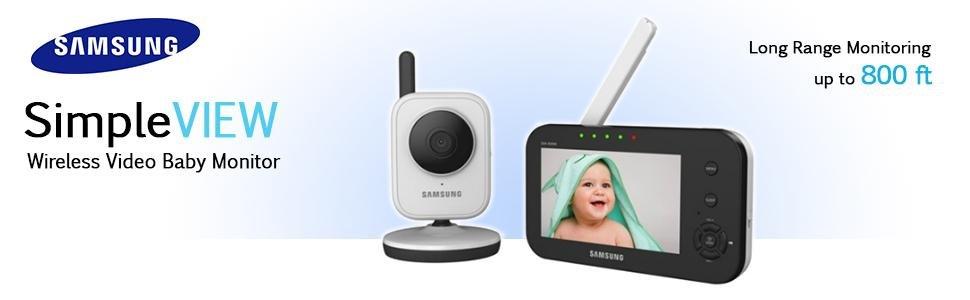Samsung SEW-3040 - Vigilabebé (CMOS, 3 mm, 2X, 250m, M-JPEG, GFSK ...