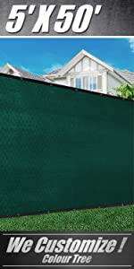 ColourTree Privacy fence screen