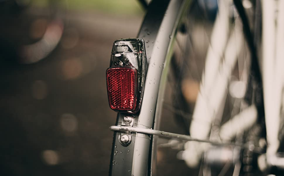 Protection Taillight to Fender Smart bike lights