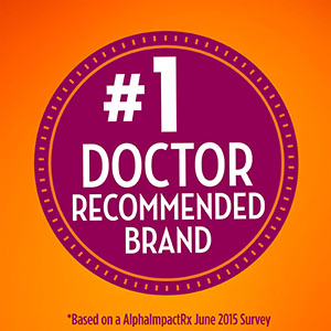 No 1 Doctor Recommended Brand