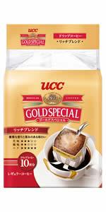 ドリップコーヒー,UCC,ゴールドスペシャル,ゴスペ,ブレンド,ドリップ,コーヒー豆,粉,レギュラーコーヒー
