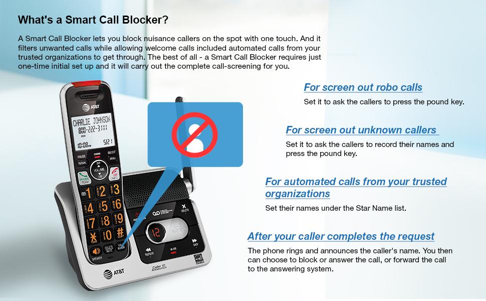 Smart Call blocker call blocking