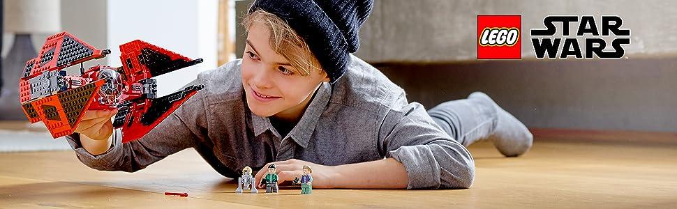 LEGO Star Wars Tie Fighter del Maggiore Vonreg, Gioco per Bambini, Multicolore, 382 x 262 x 70.5 mm, 75240