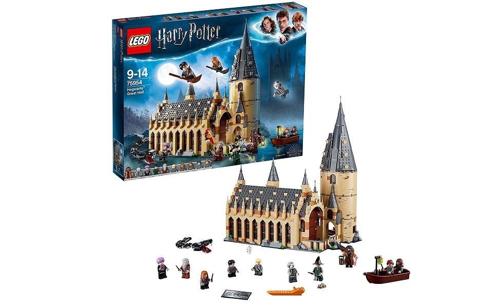 Lego 75954 Harry Potter Grote Zaal Zweinstein Lego Amazon Nl