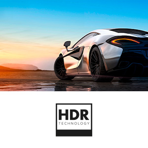 HISENSE H50BE7000 TV LED Ultra HD 4K, HDR, Dolby DTS, Slim Design, Smart TV VIDAA U3.0 AI, Triple Tuner