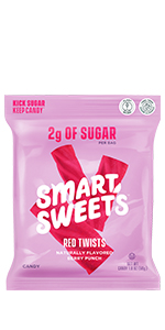 SmartSweets Red Twists