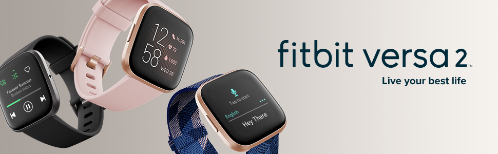 Fitbit;Versa 2; Special Edition; smartwatch; health; voice to text; spotify; deezer; water resistant