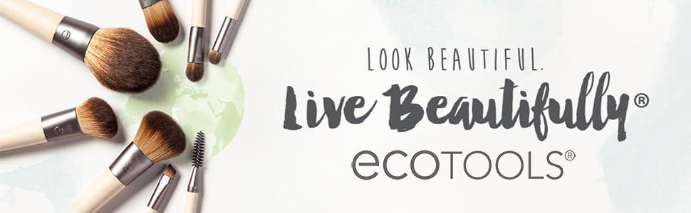 EcoTools, cruelty-free & vegan synthetic makeup brushes, sponges, applicators & bath accessories