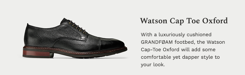Watson Casual Cap Toe Oxford Loafer
