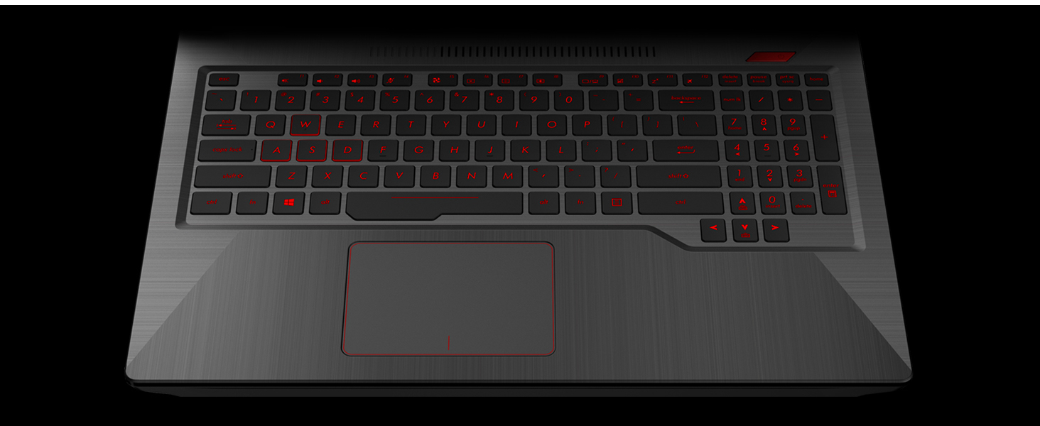 Anti-Ghosting Backlit Gaming Keyboard