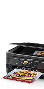 Epson Expression ET-2550 EcoTank Wireless Color All-in-One Supertank Printer with Wi-Fi, Wi-Fi Direct, Tablet and Smartphone Printing, Easily ...