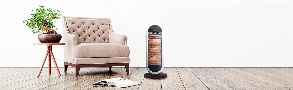 radiador cuarzo, radiador