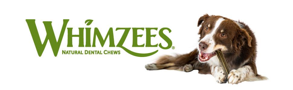 All natural dog treats, long lasting dog treats, dental dog treats, Whimzees dog chews, fresh breath