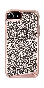 hot sale online 35c93 899a0 Amazon.com: Case-Mate iPhone 8 Case - BRILLIANCE - 800+ Genuine ...
