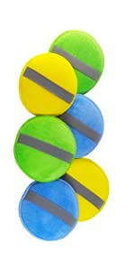 2 Verde e 2 Giallo Basics Confezione da 24 Panni per la Pulizia in Microfibra Glart 46PP Pad di Lucidatura con Microfibre con lElastico Set da 6: 2 Medie Blu
