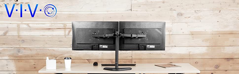 Amazon.com: VIVO - Soporte de escritorio ajustable para ...