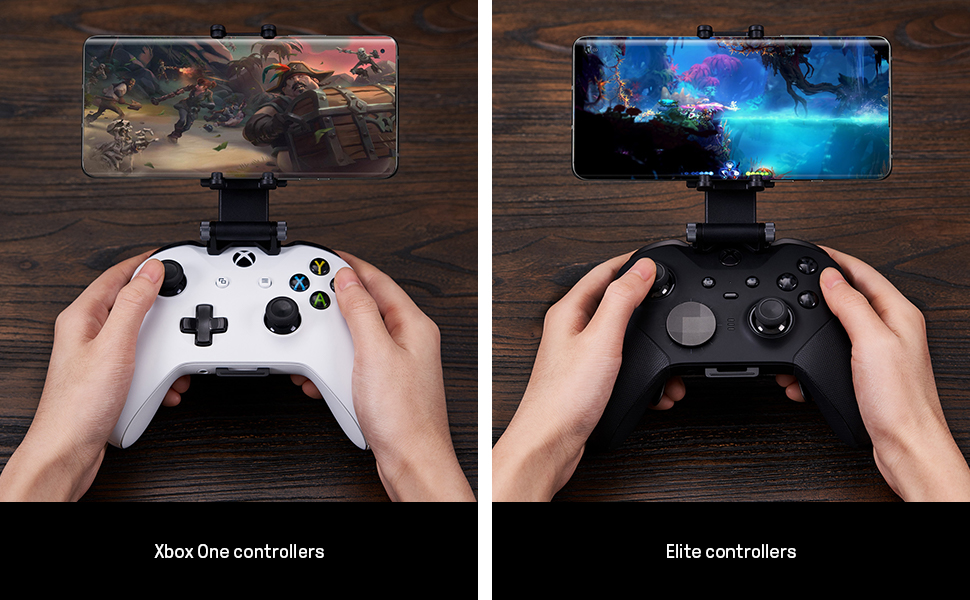 adjustable mobile phone holder for xbox controller