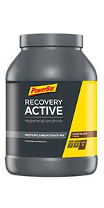 PowerBar Recovery Max Raspberry 1144g - Bebida de Suero de Leche de Regeneración con Carbohidratos + Magnesio y Zinc: Amazon.es: Salud y cuidado personal