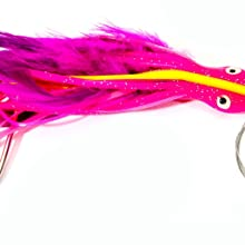 """Boone DOLPHIN RIG  7/0 WIRE RIGGED,PURPLE/PINK,5 1/2"""" / 1 OZ"""