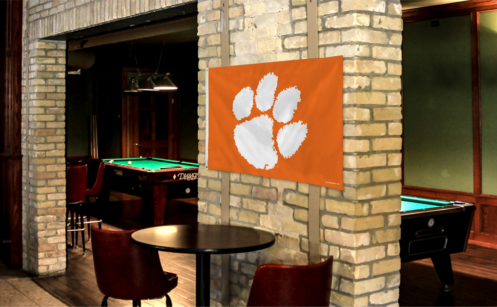 3x5 flag, banner, flag, man cave, tailgate, pennant, house warming gift, NCAA
