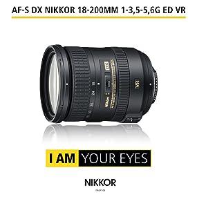 AF-S DX NIKKOR 18-200 mm 1:3,5-5,6G ED VR II