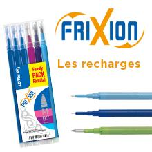Recharges FriXion