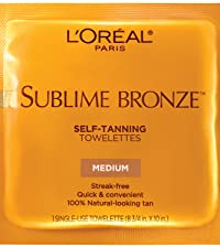Image of Sublime Bronze Towelettes