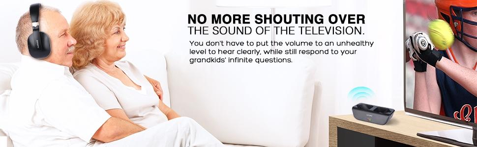 no more shouting