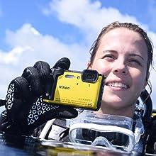 HD Videoaufnahme mit der Nikon Coolpix W300
