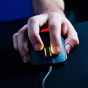 SteelSeries 62466 Rival 110, Custom TrueMove1, 7,200 CPI, 240 IPS, 30g, Prism RGB, Optical Gaming Mo