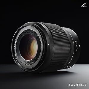 NIKKOR Z 50 mm 1:1,8 S