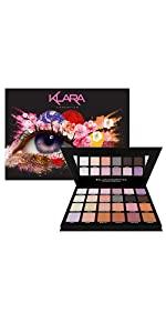 Klara Cosmetics Shanghai 24 eyeshadow palette product image