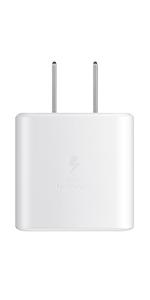 Cargador de pared de carga súper rápida USB-C de 45 W